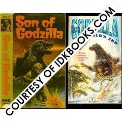 **RARE - Son of Godzilla [ORIGINAL 1988 RELEASE] *PLUS FREE PAPERBACK: Godzilla at World's End (Official Godzilla First Edition 1998-0679888276) *FREE TRACKING*