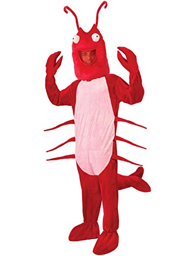 Forum Novelties Lobster Mascot Costume, Red, Standard]()