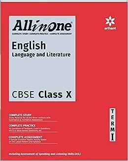 English Book Class 10th Cbse