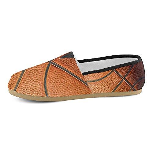 D-story Fashion Sneakers Flats Mujeres Classic Slip-on Canvas Zapatos Holgazanes Baloncesto