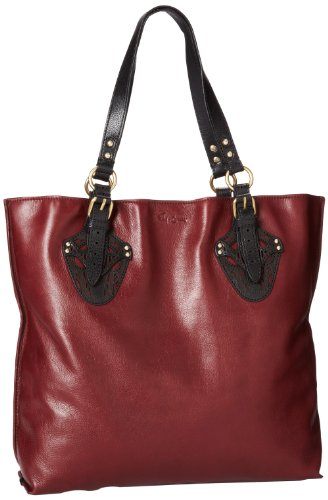 Foley + Corinna Women's Equestrian Tote, Plum, One Size, Bags Central