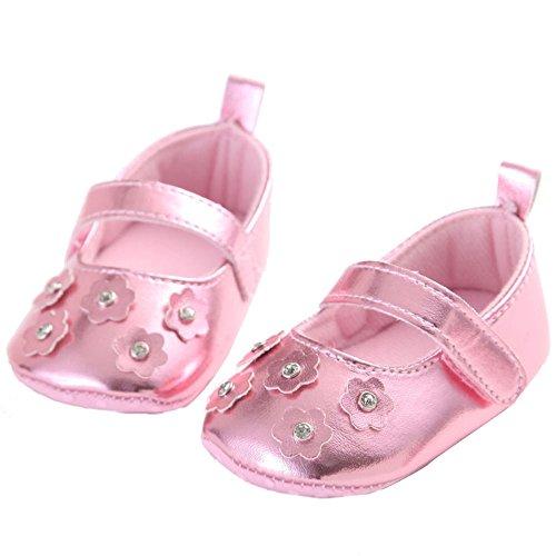 WAYLONGPLUS , Baby Mädchen Lauflernschuhe 13(12-18 Months)