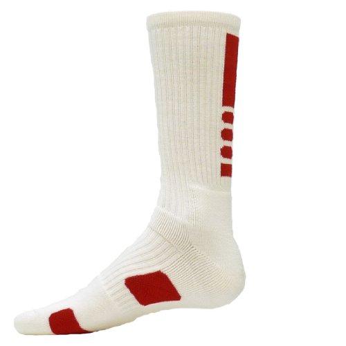 Athletic Lion Socks Legend Adulti Bianco Crew Red Rosso t6zTww