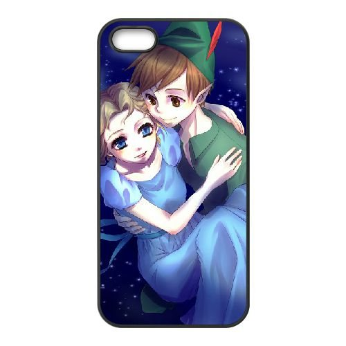 Peter Pan 013 coque iPhone 4 4S Housse téléphone Noir de couverture de cas coque EEEXLKNBC19219