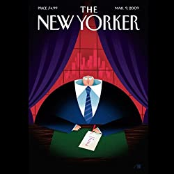 The New Yorker, March 9nd, 2009 (Alec Wilkinson, Sasha Frere-Jones, David Foster Wallace)