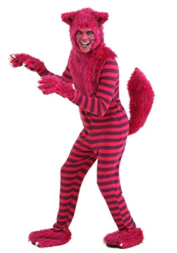 Adult Deluxe Cheshire Cat Costume Medium Pink]()