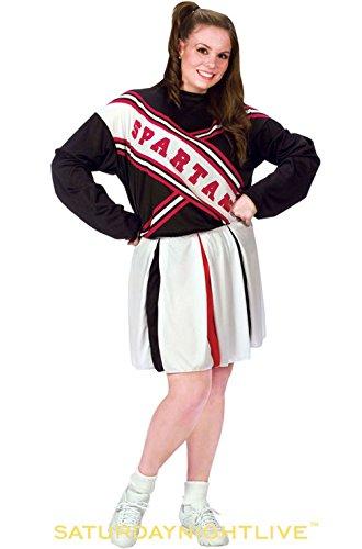 [Mememall Fashion Saturday Night Live Female Spartan Cheerleader Plus Size Costume] (Spartan Princess Costumes)