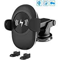 Camboss 2-in-1 Qi Wireless Car Charger