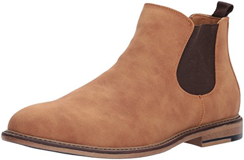 Madden Womens M-graye Chelsea Boot Cognac Scamosciato