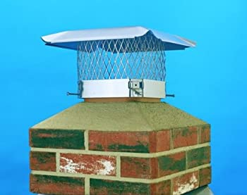 Lindemann 150188 Hy-C 18x18 HY-C S.S. Chimney Cover