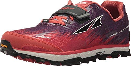 Altra Womens King Mt 1.5 Running Shoe, Color: Orange, Size: 9.5 (Afw1852g-8-095)