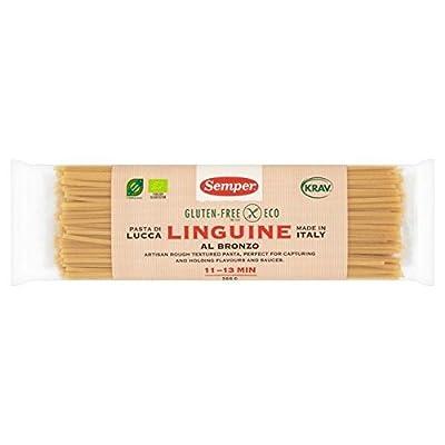 Semper Organic & Gluten Free Linguine Pasta - 300g (0.66lbs)