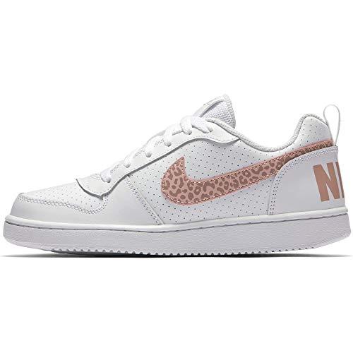 white Nike Borough Donna Pink gs Court Stardust Rust Low Basket Multicolore Da 101 Coral Scarpe rrzqw0