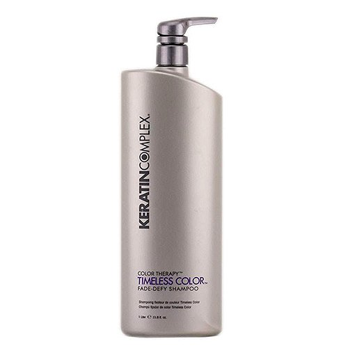 Smoothing Shampoo Therapy (Keratin Complex Color Therapy TIMELESS COLOR Shampoo 33.8oz)