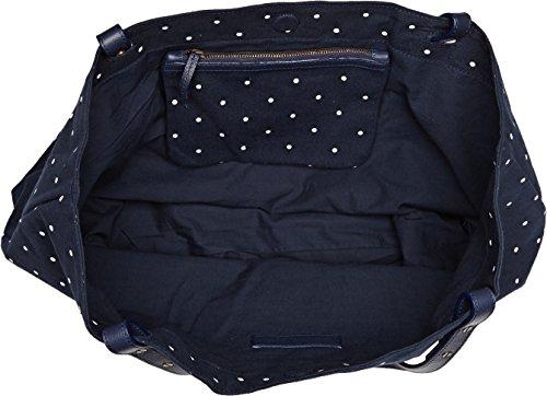 Petite Mendigote Clea Dots - Bolsos bandolera Mujer Azul (Ocean)