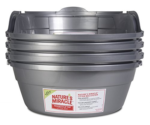 Nature S Miracle Oval Hooded Litter Box