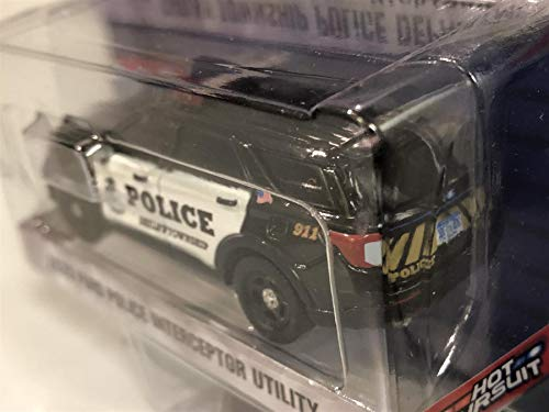 2020 Ford Police Interceptor Utility Shelby Township Police Department (Shelby Township, Michigan) 1/64 Diecast Model Car by Greenlight 30143