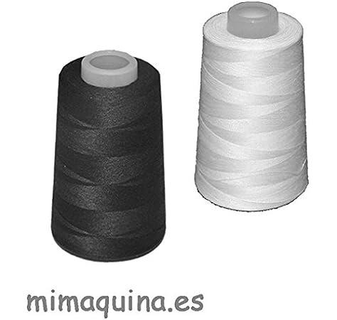 2 conos de hilo de poliester, especiales para máquinas de coser y ...