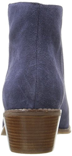 Cole Haan Women's Abbot Boot, Blazer Blue Suede, 9 B US by Cole Haan (Image #2)