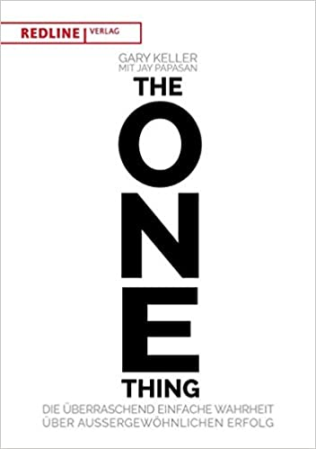 the one thing 9783868816815 amazon com books