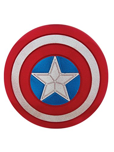 Rubie's Costume Captain America American Dream 12-Inch Glitter Shield Costume -