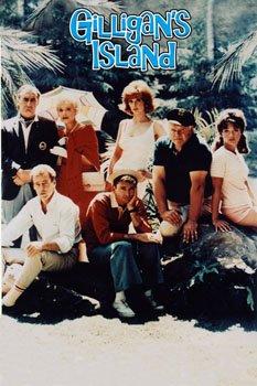 Gilligan's Island Cast Poster