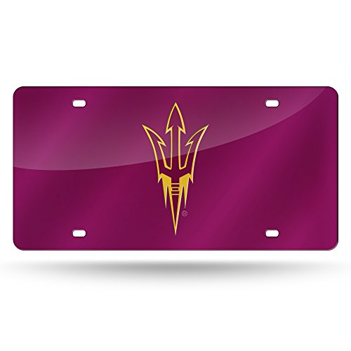 - Rico Industries ASU Arizona State Sun Devils Red Laser License Plate
