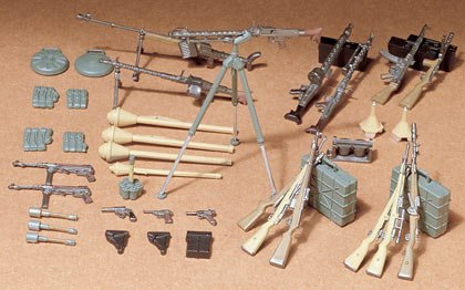 35 German Infantry Weapons - 1/35 German Infantry Weapons
