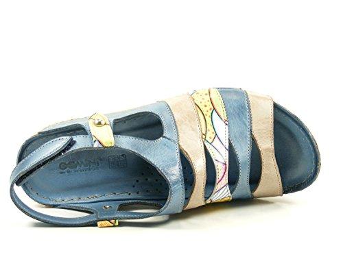 Femmes Multi mineral jeans Sandalettes 032153 Bleu couleur jeans mineral 29 228 rq1r7