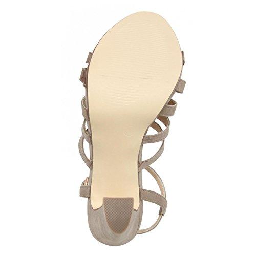 Schuhe ferse für Damen MTNG 58007 GIJON TAUPE
