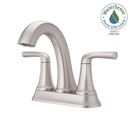 Pfister LF-048-LRGS Ladera 4 Centerset 2-Handle Bathroom Faucet