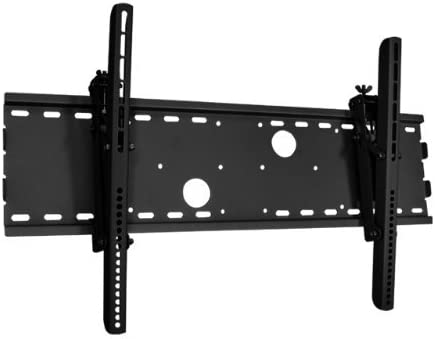 Black Adjustable Tilt Tilting Wall Mount Bracket for Sharp Aquos LC46D85U LC-46D85U 46 Inch LCD HDTV TV Television