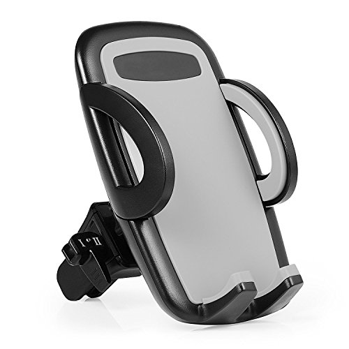 Phone holder for Car Phone Mount Air Vent Cell Phone Holder for Car Mount Cradle Compatible with iPhone X 8 Plus 7 Plus SE 6s 6 Plus 6 5s 5 4s 4 Samsung Galaxy S6 S5 S4 (phone holder for car)