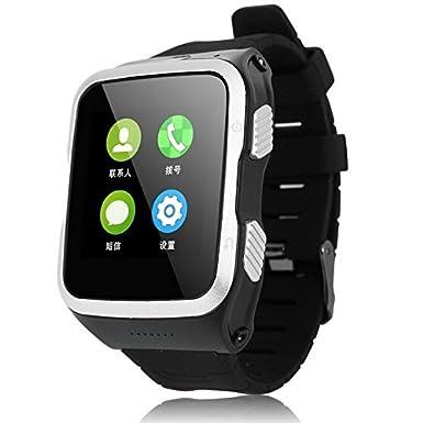 aicarey 3 G Android inteligente reloj teléfono WiFi Bluetooth reloj inteligente zgpax S83 GPS deporte reloj