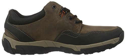Stringate Walbeck Proof Uomo Brown Lea Clarks Marrone Weather Scarpe Edge tZ4RxO