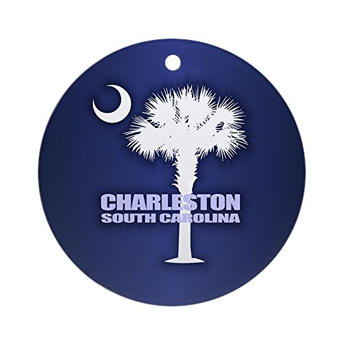 CafePress Charleston Ornament (Round) Round Holiday Christmas Ornament]()