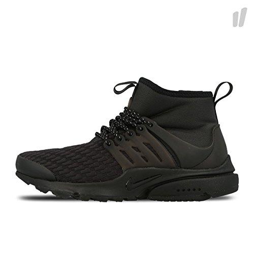 innovative design 54010 52a5f Nike Air Presto Mid Utility Premium Mens Fashion-Sneakers AA0674-003 6 -  Black Black