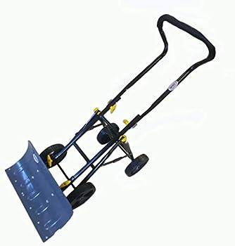 Heavy Duty Adjustable Rolling Snow Plow