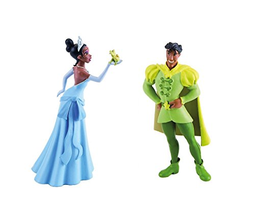 Frog Prince Cake - Disney's Princess Tiana and Frog With Prince Naveen Birthday Party Cake Toppers