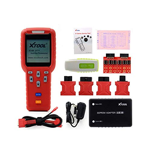 XTOOL X100 Pro Auto Key Programmer for Car's ECU Immobilizer Pin Code Reader Multi Brand Cars Diagnosis with EEPROM Throttle Matching EPB Electronic Brake for GM for BMW for Ford for Volvo