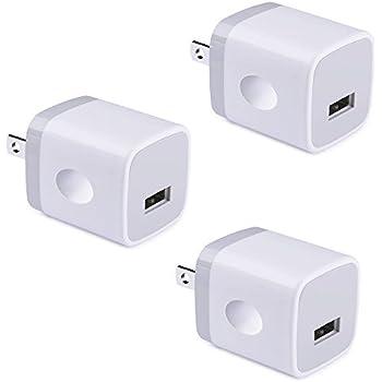 Amazon Com Single Usb Wall Charger 1a 5v One Port Usb