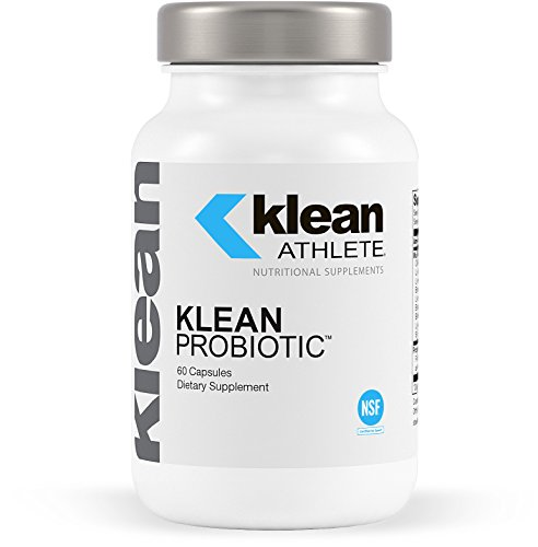 Klean Athlete - Klean Probiotic - Supports Immune System and Overall Health of the Digestive System - NSF Certified for Sport - 60 Capsules