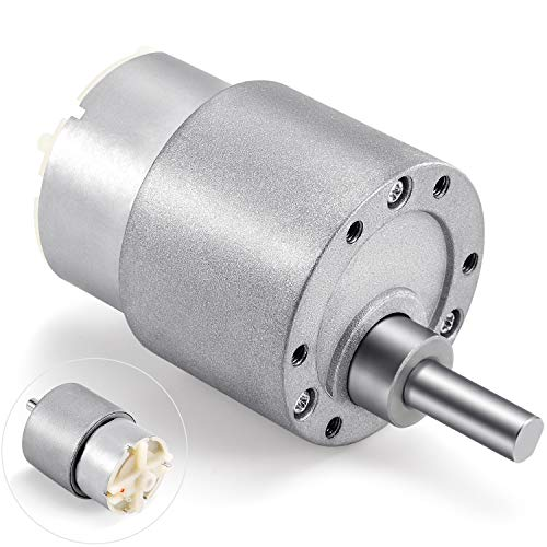 uxcell 0.7A 6V 90RPM Electric Speed Reducing DC Gear Box Geared Motor