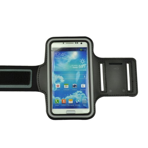 Mocase Active Sport Armband Case for New Samsung Galaxy S3/ S4 (Black) (Armband Sport Active)