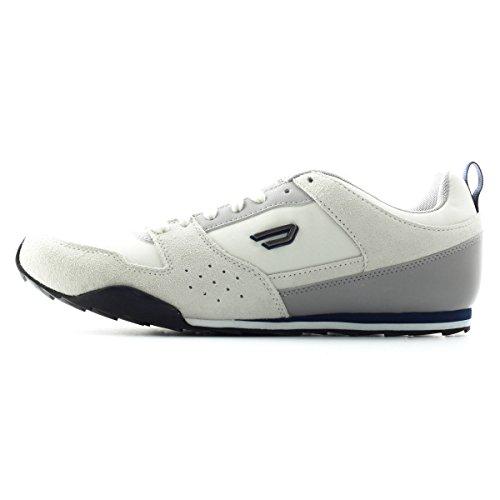 Diesel Men's Shorty Fashion Sneaker,Vaporous Gray/White/Paloma,12 M US