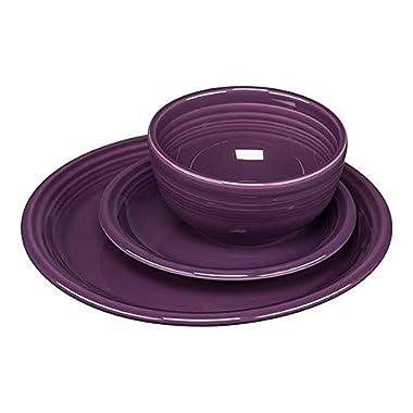 Fiestaware 3 Piece Bistro Set Mulberry 1482343