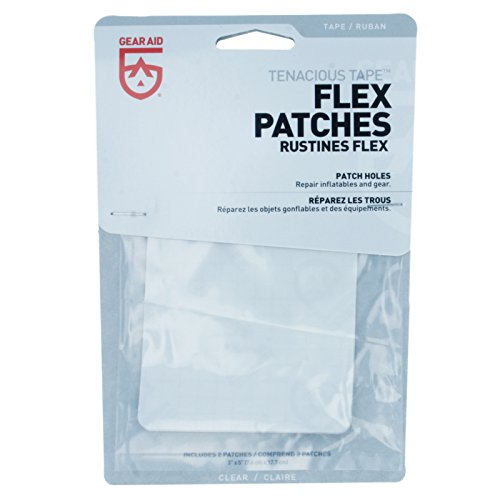 McNett Gear Aid Tenacious Tape Max Flex Repair Patches Permanent (3-Pack) by Gear Aid