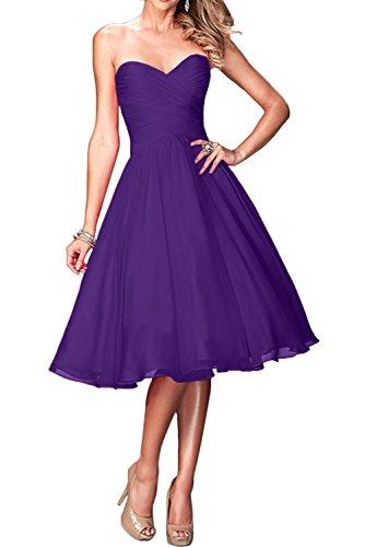 Ivydressing - Vestido - trapecio - para mujer morado 36