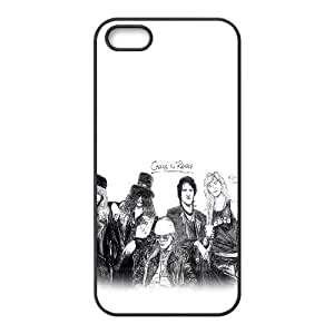 Guns N Roses iPhone 5 5s Cell Phone Case Black gift Q6539126