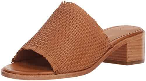 FRYE Women's Cindy Woven Mule Heeled Sandal